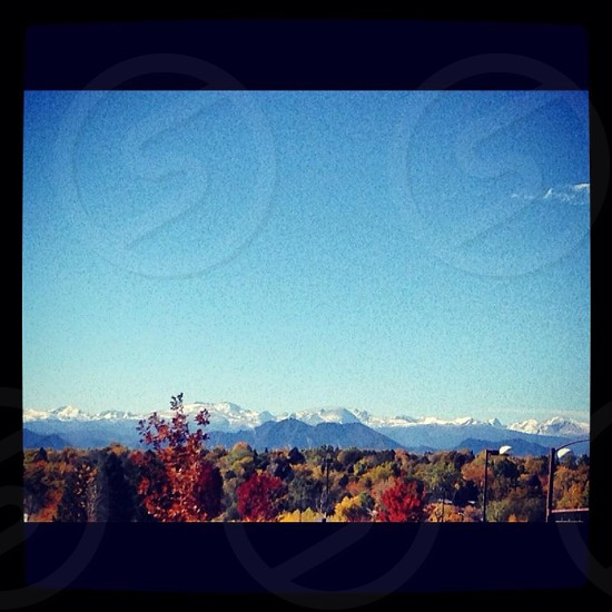Fall in the Rocky Mountains photo