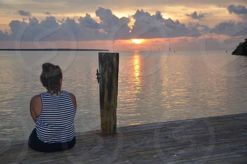 Florida Keys Sunset photo