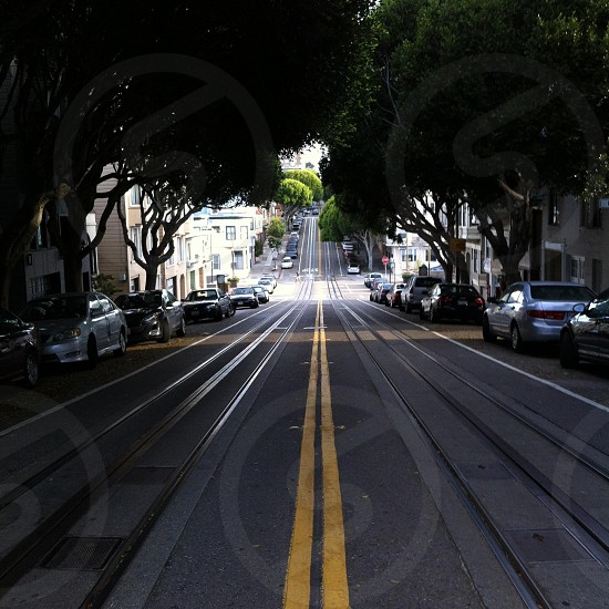 Chasing cable cars photo