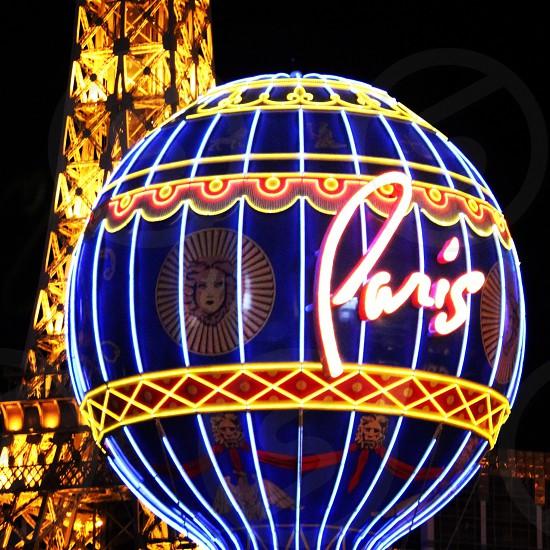 Paris Hotel and Casino Las Vegas Nevada photo