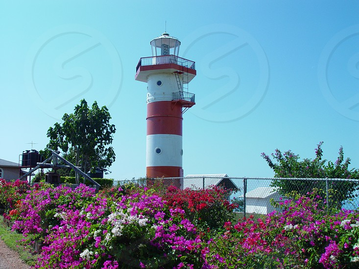 Old Lighthouse. Lighthouse. photo