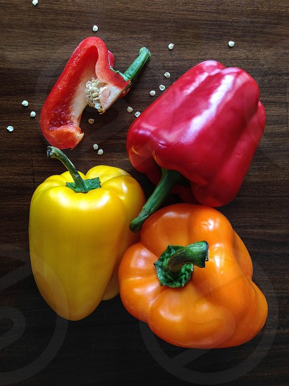 Colorful Peppers photo