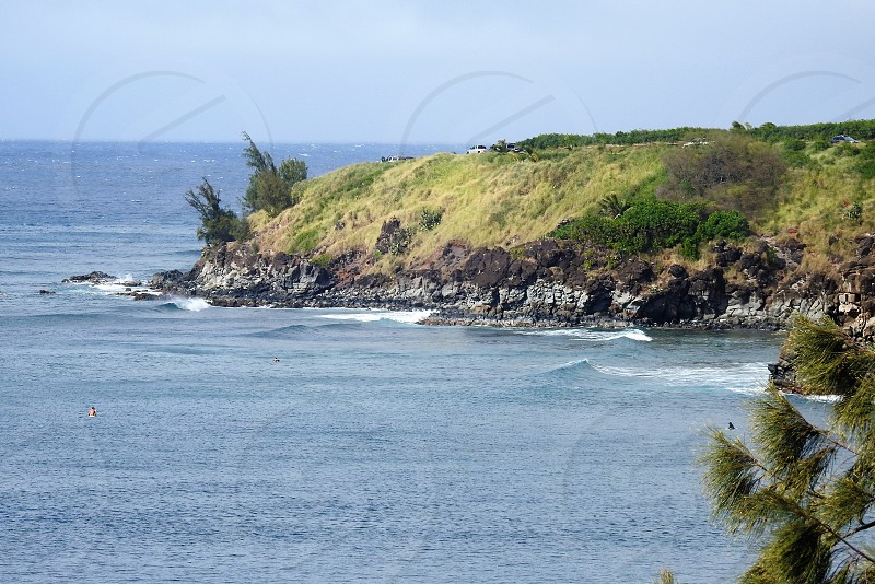 Honolua shoreline          photo