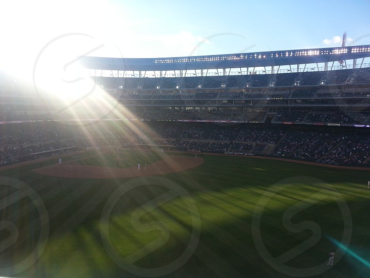 Twins game I was at recently...  photo
