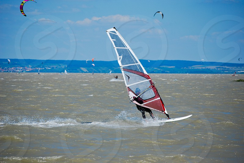 wind and surfing photo