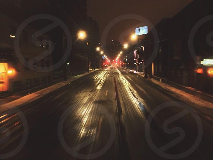 street light view photo