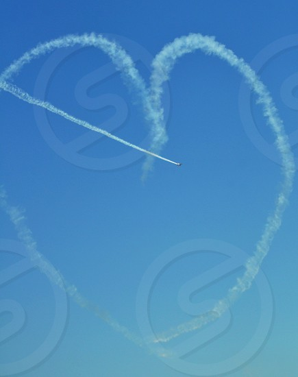 Heartsheartshapeairshow photo
