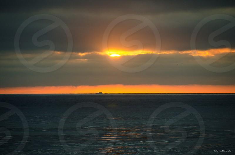 Sunset California ocean beach beauty nature photo