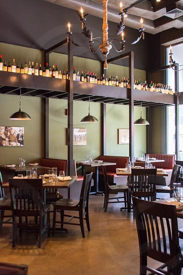 seating restaurant eatery photo