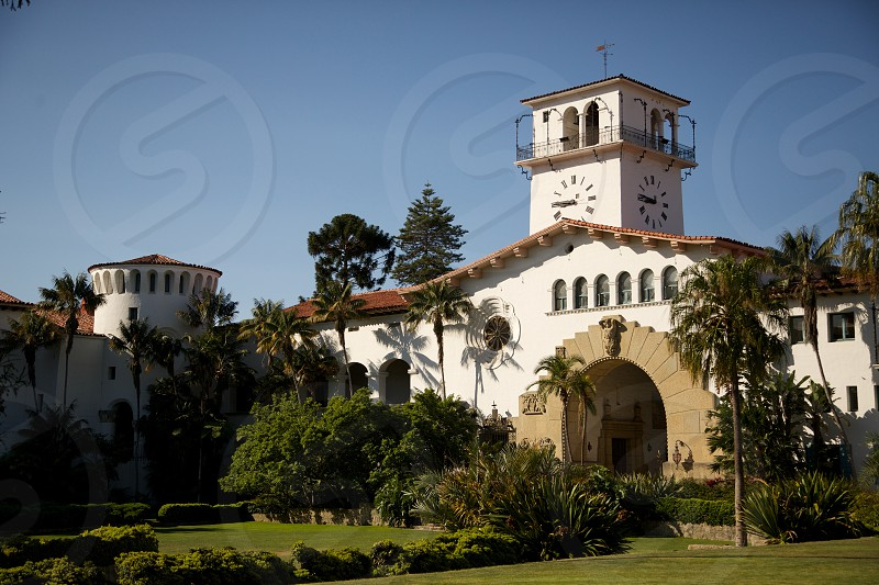 Santa Barbara Courthouse photo