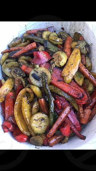 Fresh Veggies on the Grill~ photo