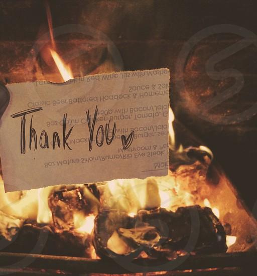 Thank you photo