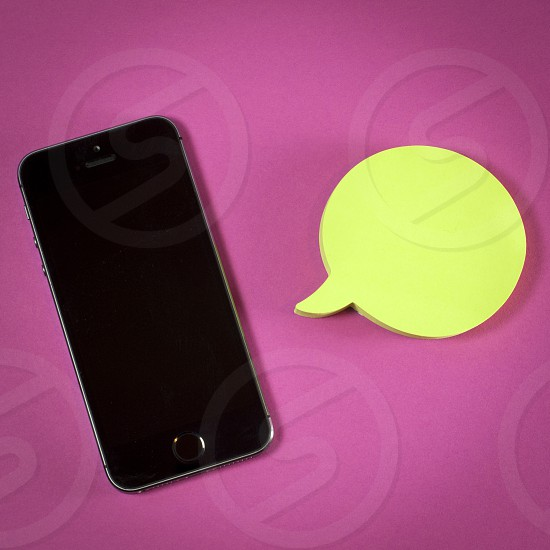 IPhone and post it pink background square inspiration humor images access culture design blog comics fun holidays hello can you hear me photo
