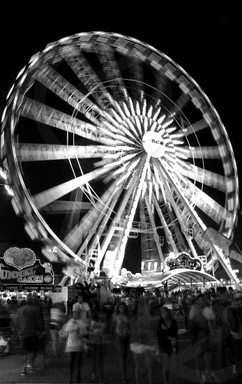 OC Fair 2010 (Black and White) photo