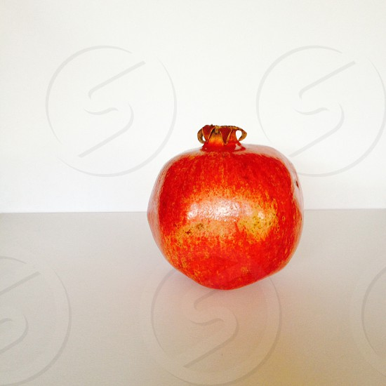 Popping red Pomegranate~ photo
