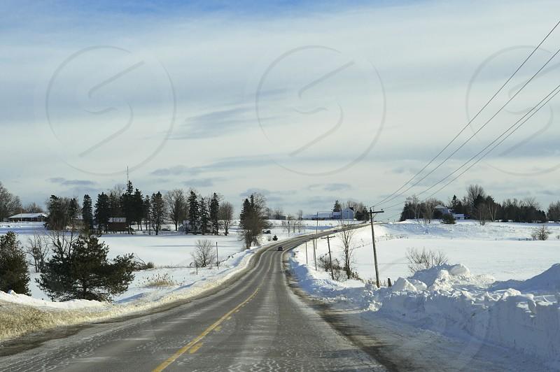 Winter Rural Telecommunications photo