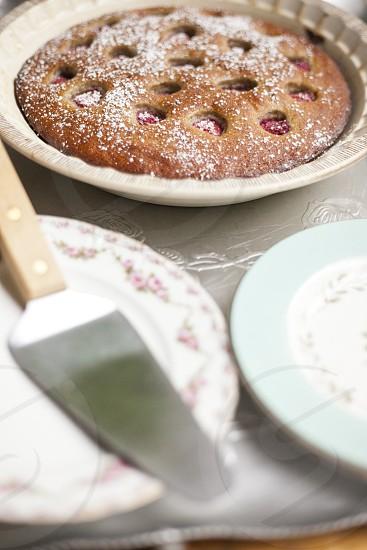 dessert sweet plates photo