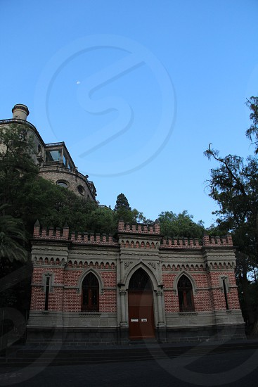 Chapultepec´s castle was built during the virreinato in Mexico City. Now it is a museum and a place for special events photo
