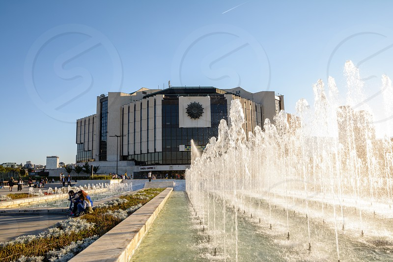 The National Palace of Culture Sofia Bulgaria Europe photo