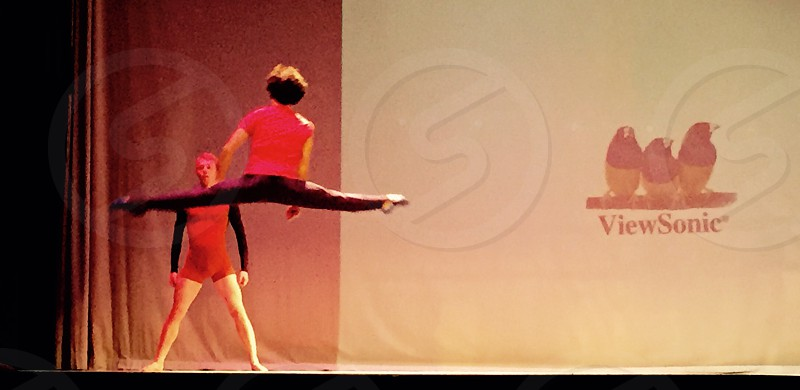 Dancers Jump photo