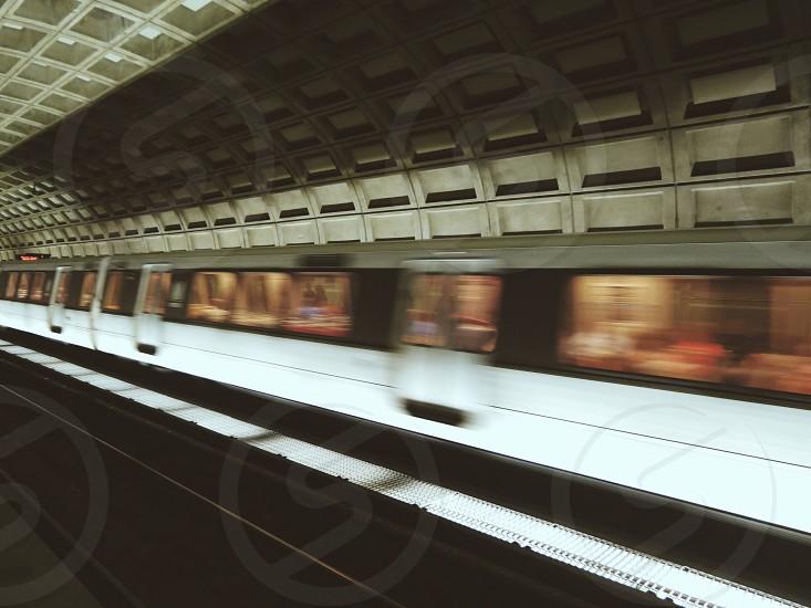 train station macro photography photo