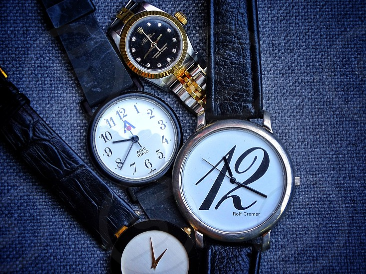 collectio watches                             photo