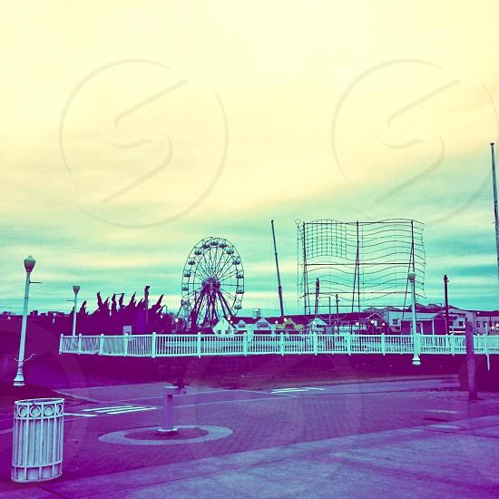 Oceanfront Boardwalk in VA BEACH VA 2014 photo