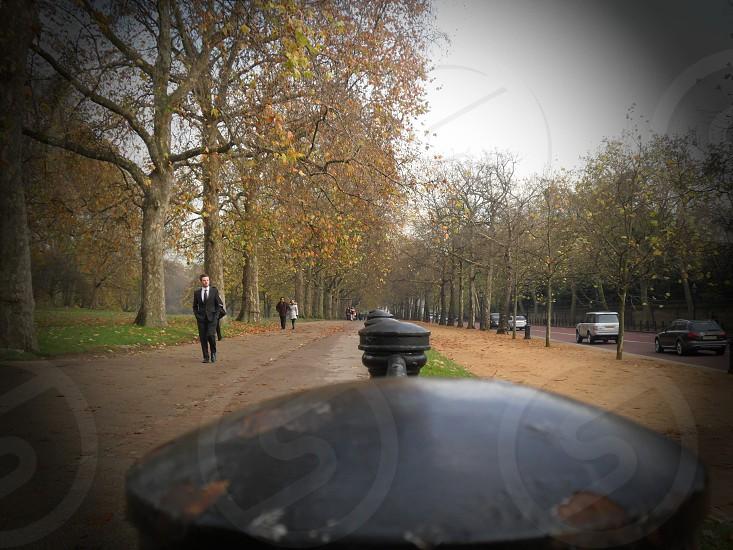 ParkLondonMan Walking photo