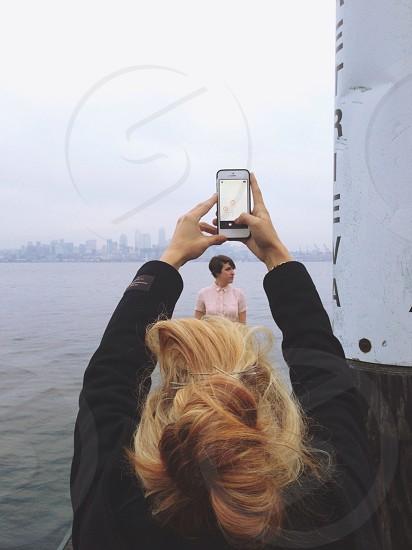 smartphone white photo