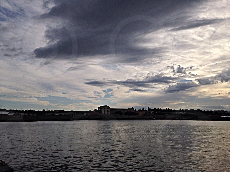 This is Mola di Bari Apulia Italy! A Wonderful sea and Sky!  photo