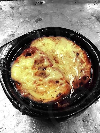 French onion soup  photo