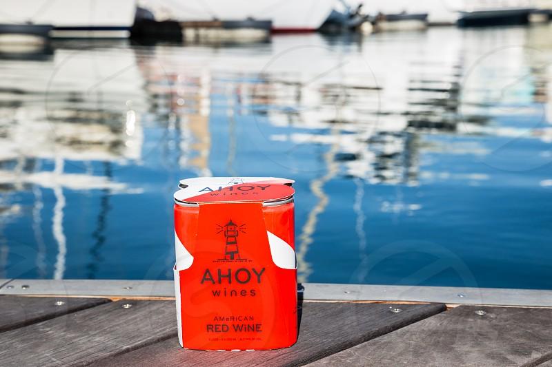 Ahoy Wine-Red photo