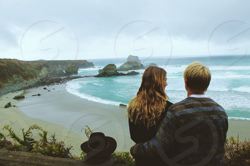 falling in love in big sur photo
