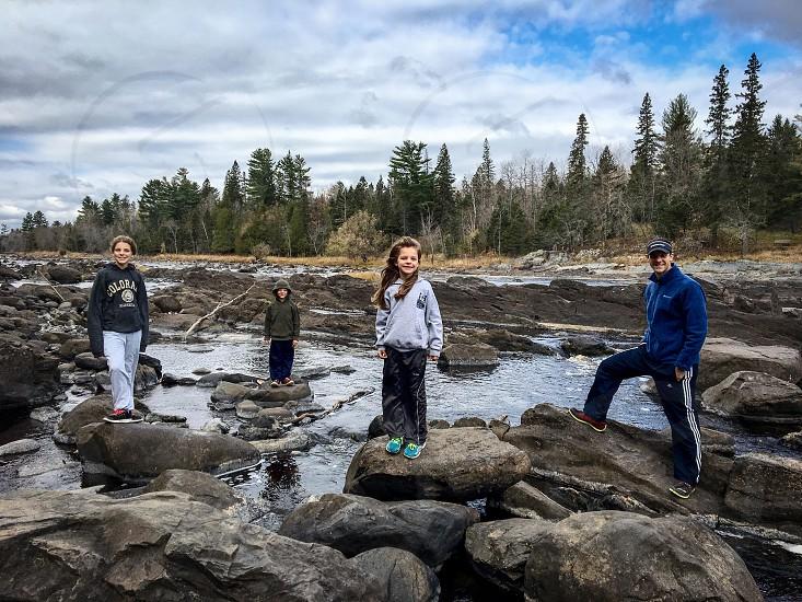 Family travel exploring the North Shore photo