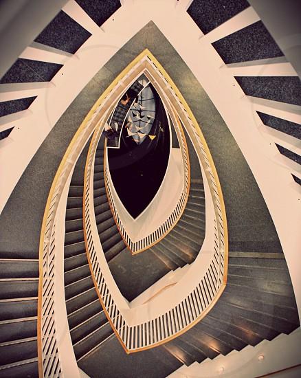 Escalier.  photo
