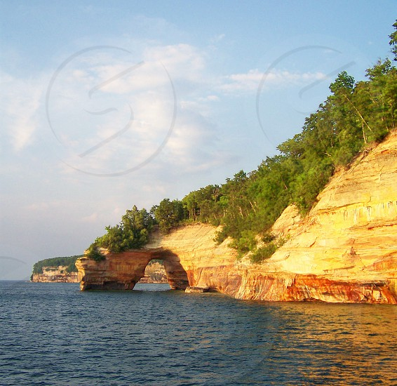 Pictured Rocks  photo