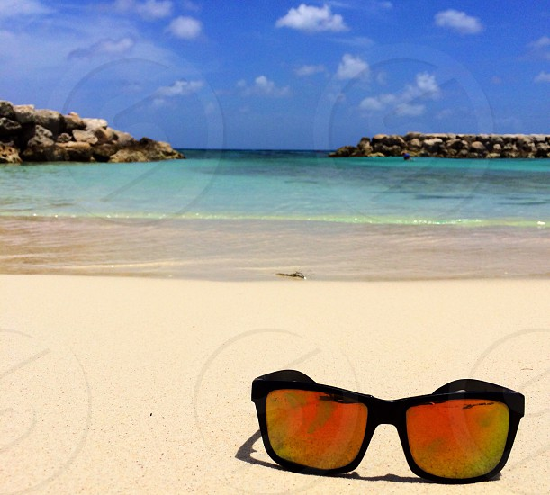Beach in Aruba. photo
