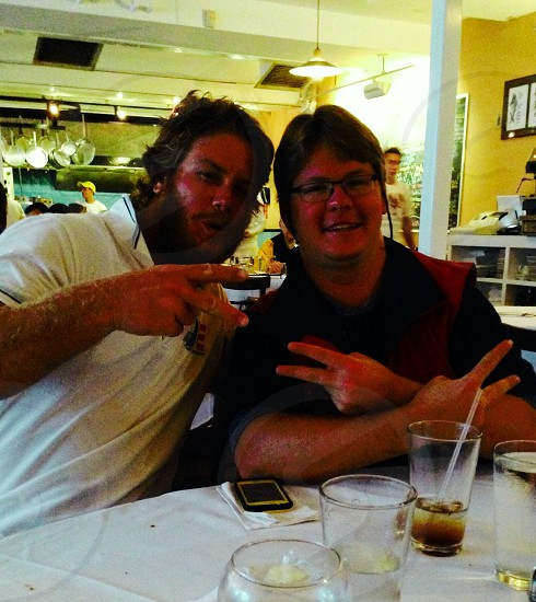 Got to see Luke Lawrence for dinner in Newport RI photo
