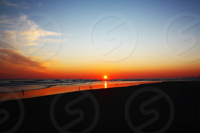 Oak Island sunset photo