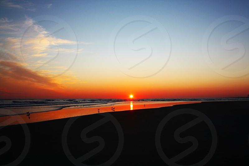 A twinkling sunset photo