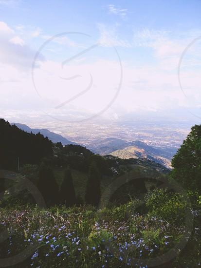 mountain cliff photo
