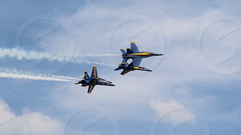 Blue Angels Display Team photo