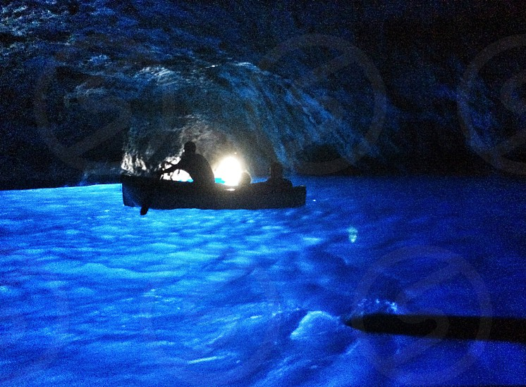 Blue grotto  photo