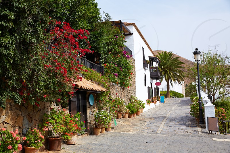 Betancuria village Fuerteventura at Canary Islands of Spain photo