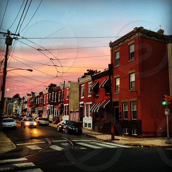 My block in North Philly can look nice sometimes.  photo