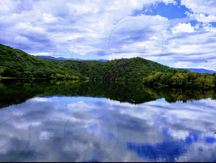Mirror nature photography  photo