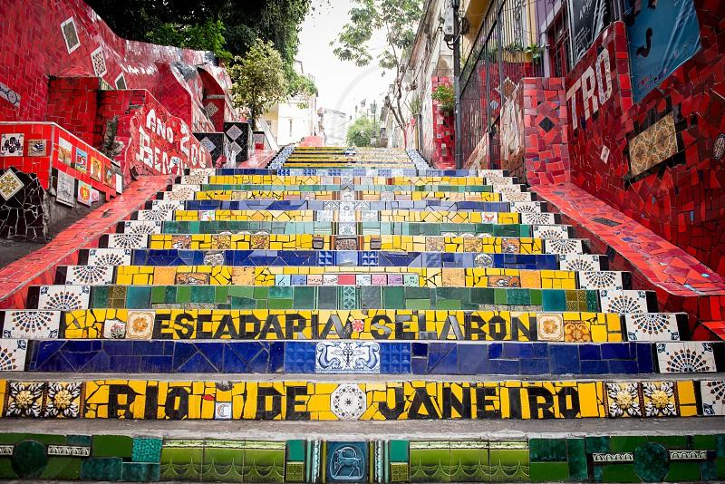 ESCADARIA SELARON RIO DE JANEIRO PONTO TURISTICO photo