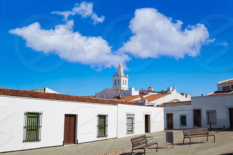 Villafranca de Barros in Extremadura Spain by Via de la Plata way to Santiago photo
