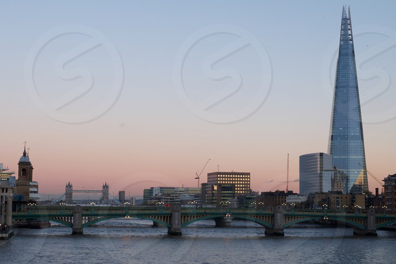 The river Thames photo