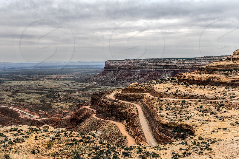Moki Dugway Utah photo